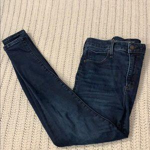 A&F Simone high rise super skinny jeans